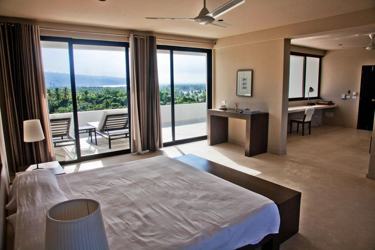 Location villa Las Terrenas - La suite de 80m² du niveau supérieur