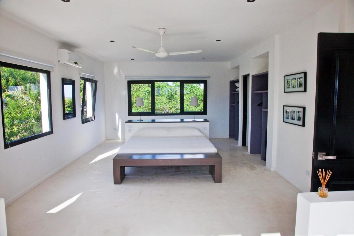 Location villa Las Terrenas - La suite du niveau supérieur