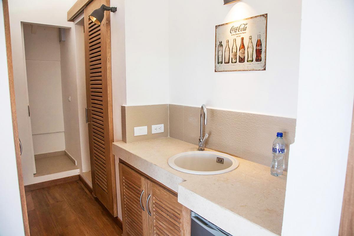 Location villa Las Terrenas - La salle de douche de la chambre 1