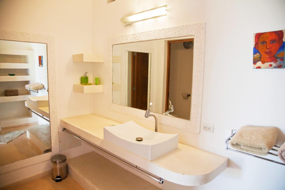 Location villa Las Terrenas - La salle de douche de la chambre 3