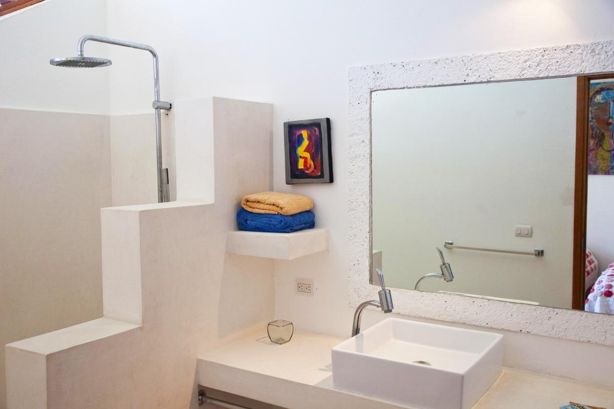 Location villa Las Terrenas - La salle de douche de la chambre 5