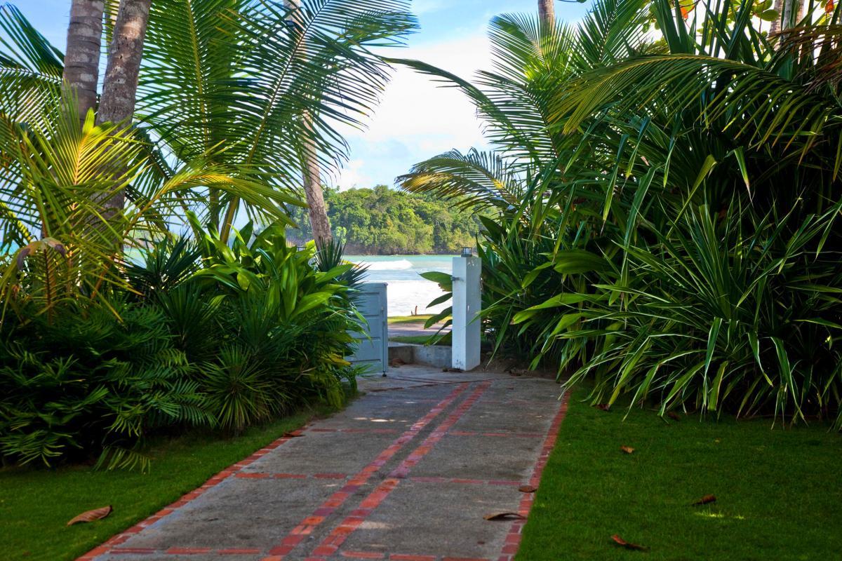Location villa Las Terrenas - L'accès à la plage