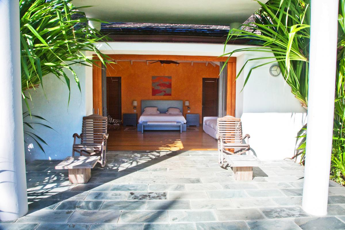Location villa Las Terrenas - La chambre du bungalow 1