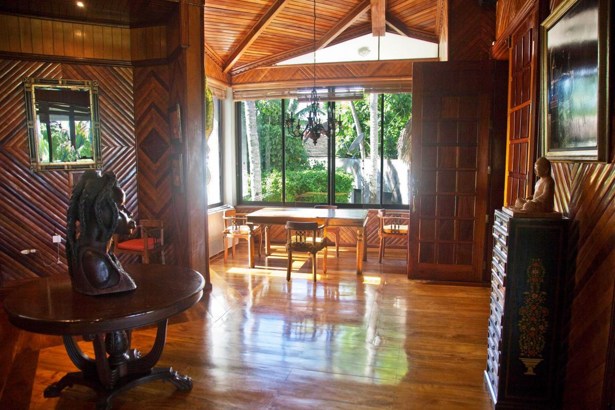 Location villa Las Terrenas - Le coin bureau de la Suite