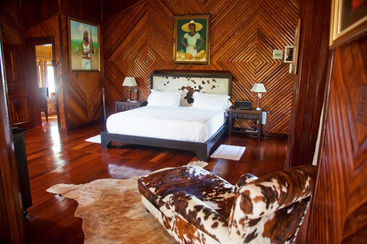 Location villa Las Terrenas - Le coin chambre de la Suite