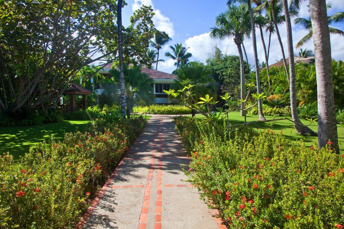 Location villa Las Terrenas - Le jardin de la villa