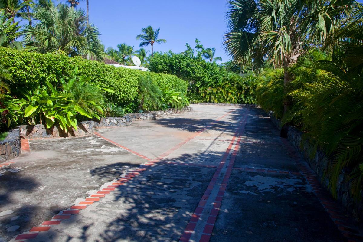 Location villa Las Terrenas - Parking de la villa