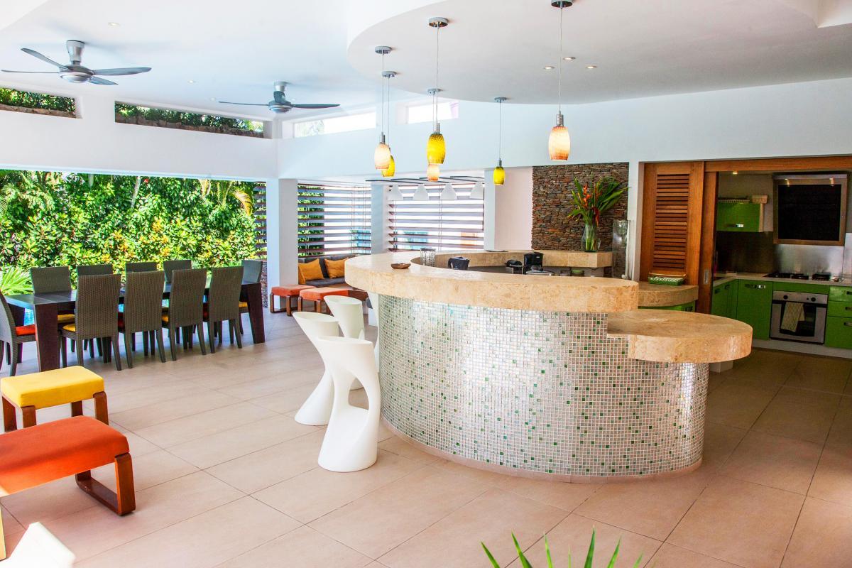 Location villa Las Terrenas - La pièce à vivre