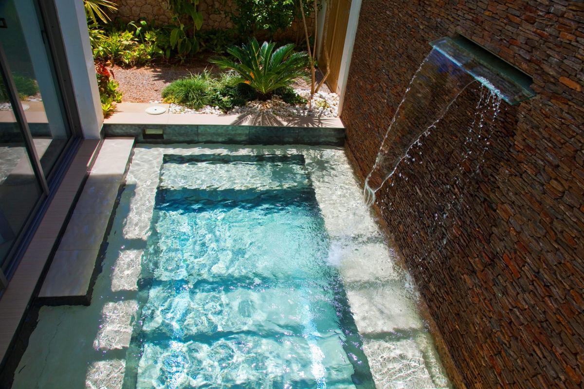 Location villa Las Terrenas - La piscine de la Suite jacuzzi