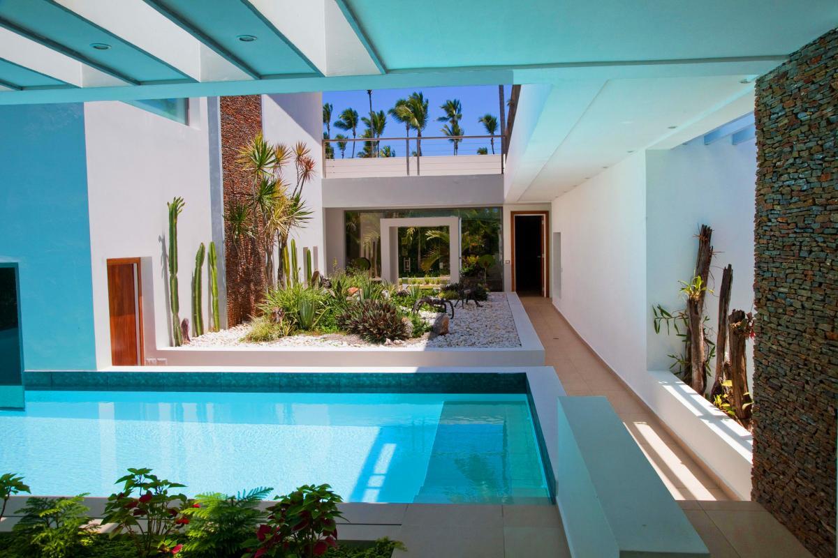 Location villa Las Terrenas - La vue de la Master Suite