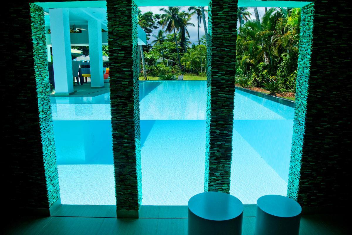 Location villa Las Terrenas -La vue de la Suite piscine