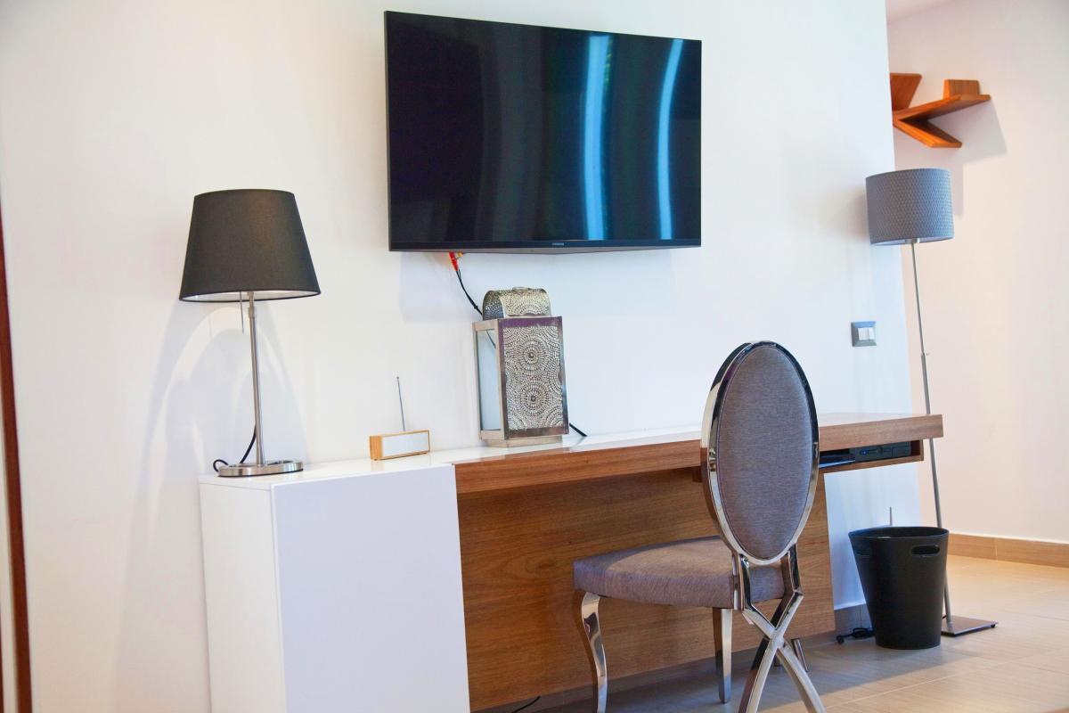Location villa Las Terrenas - Le bureau de la Master Suite