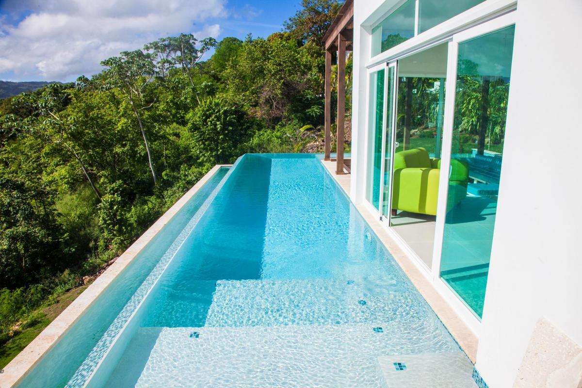 Location villa Las Terrenas - La piscine