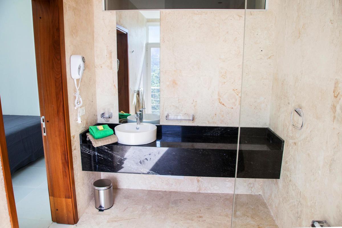 Location villa Las Terrenas - La salle de douche de la chambre 4