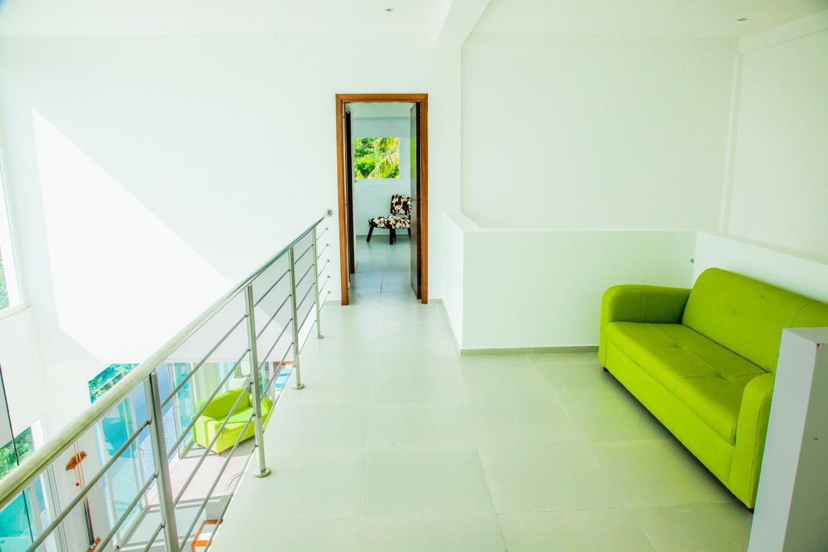 Location villa Las Terrenas - Le palier d'accès aux chambres