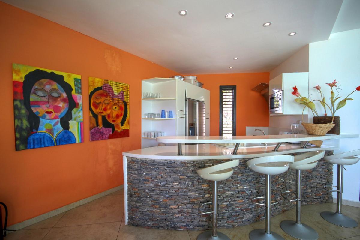 DOLT41 Villa Carrera Las Ballenas vue mer salon