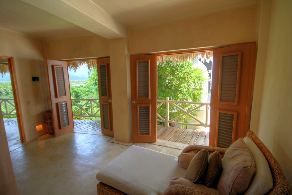 DOLT49 Villa luxe piscine et vue mer panoramique chambre 4 rc terrasse