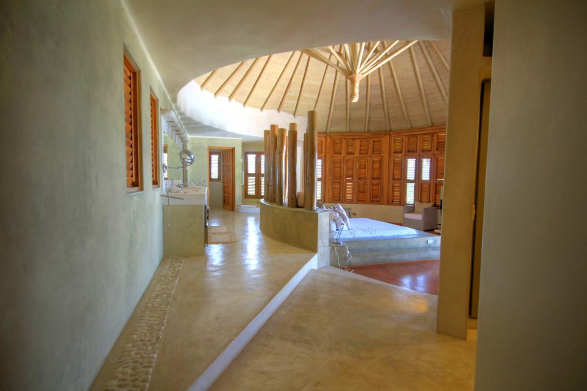 DOLT49 Villa luxe piscine et vue mer panoramique chambre principale étage vue