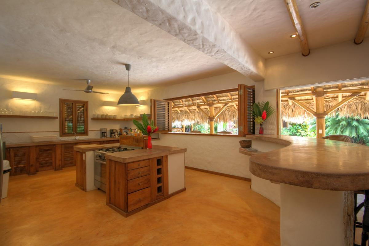 DOLT53 - Villa Casa Coco Playa Coson Las Terrenas salon