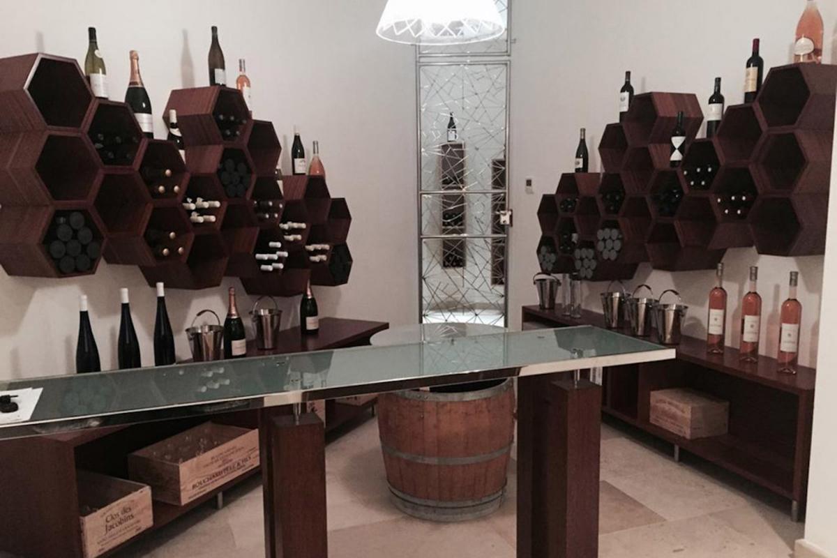Location villa Camaruche - La cave à vin