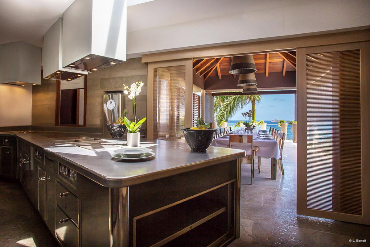 Location villa Camaruche - La cuisine