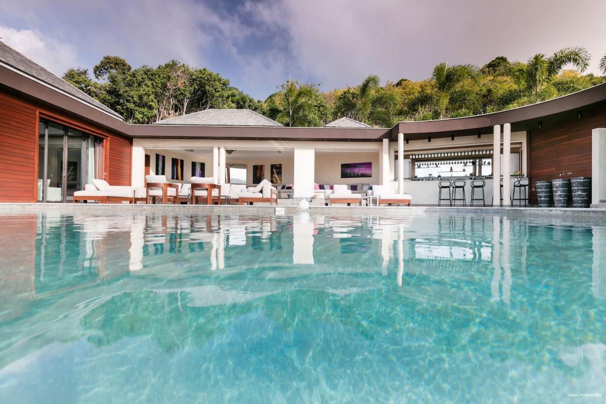 Location villa Camaruche - La piscine