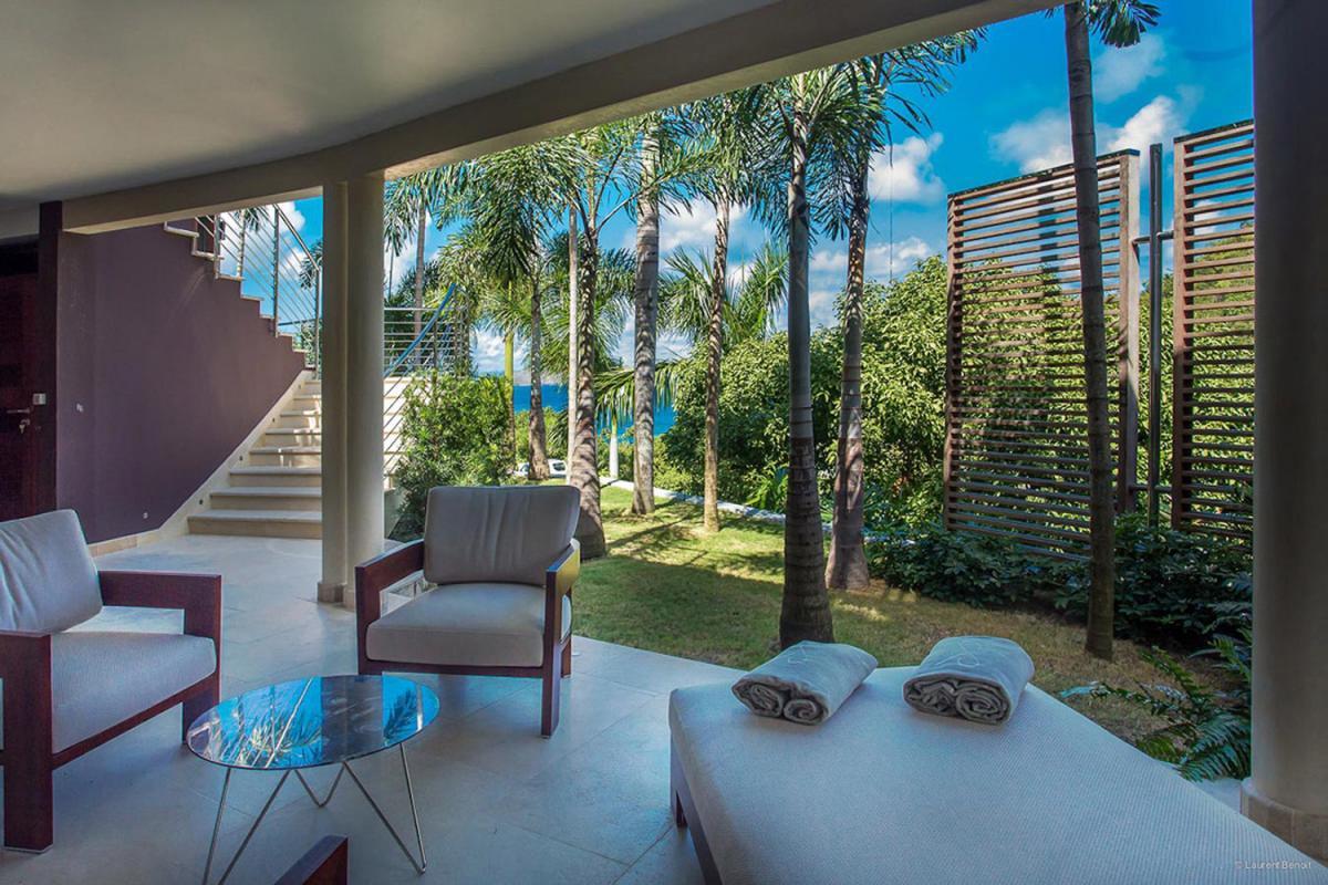 Location villa Camaruche - La terrasse de la chambre 3