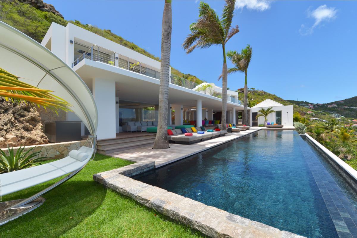 Location villa Corossol - La piscine