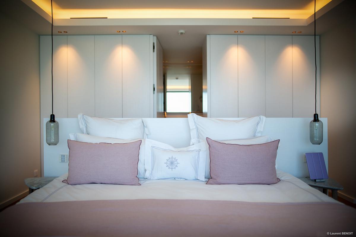 Location villa Corossol - La chambre 1