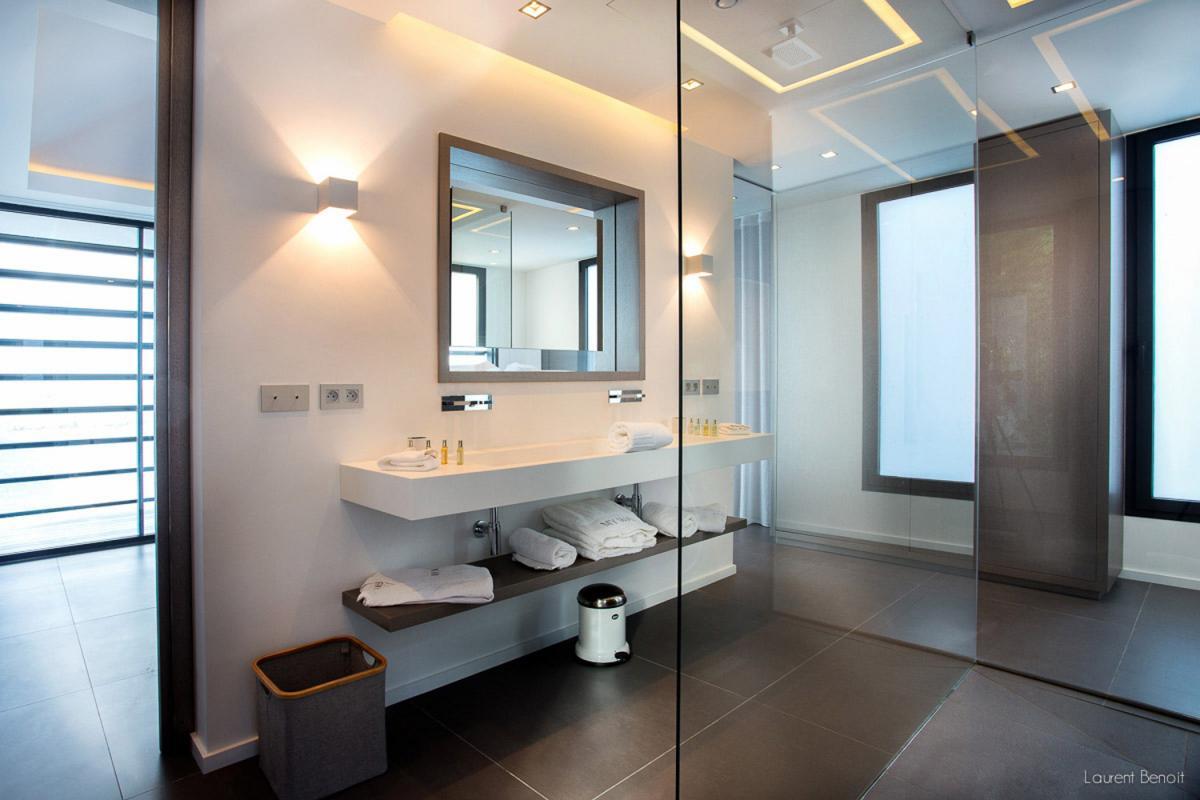 Location villa Flamands - La salle de douche de la chambre 2