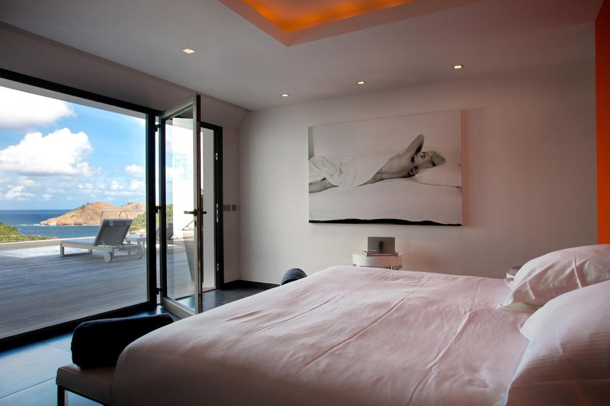 Location villa Flamands - La chambre 4
