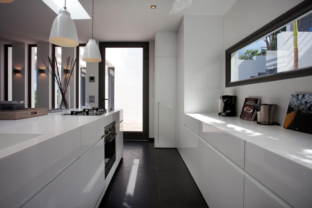 Location villa Flamands - La cuisine