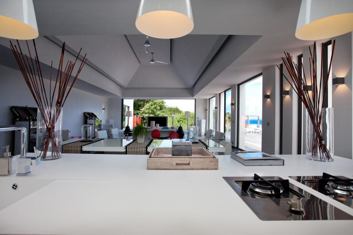 Location villa Flamands - La pièce à vivre