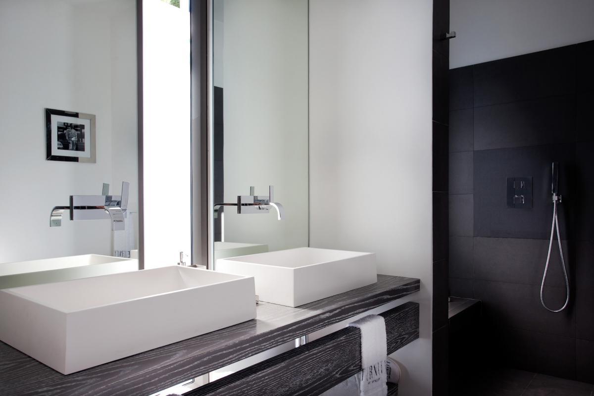 Location villa Flamands - La salle de douche de la chambre 3