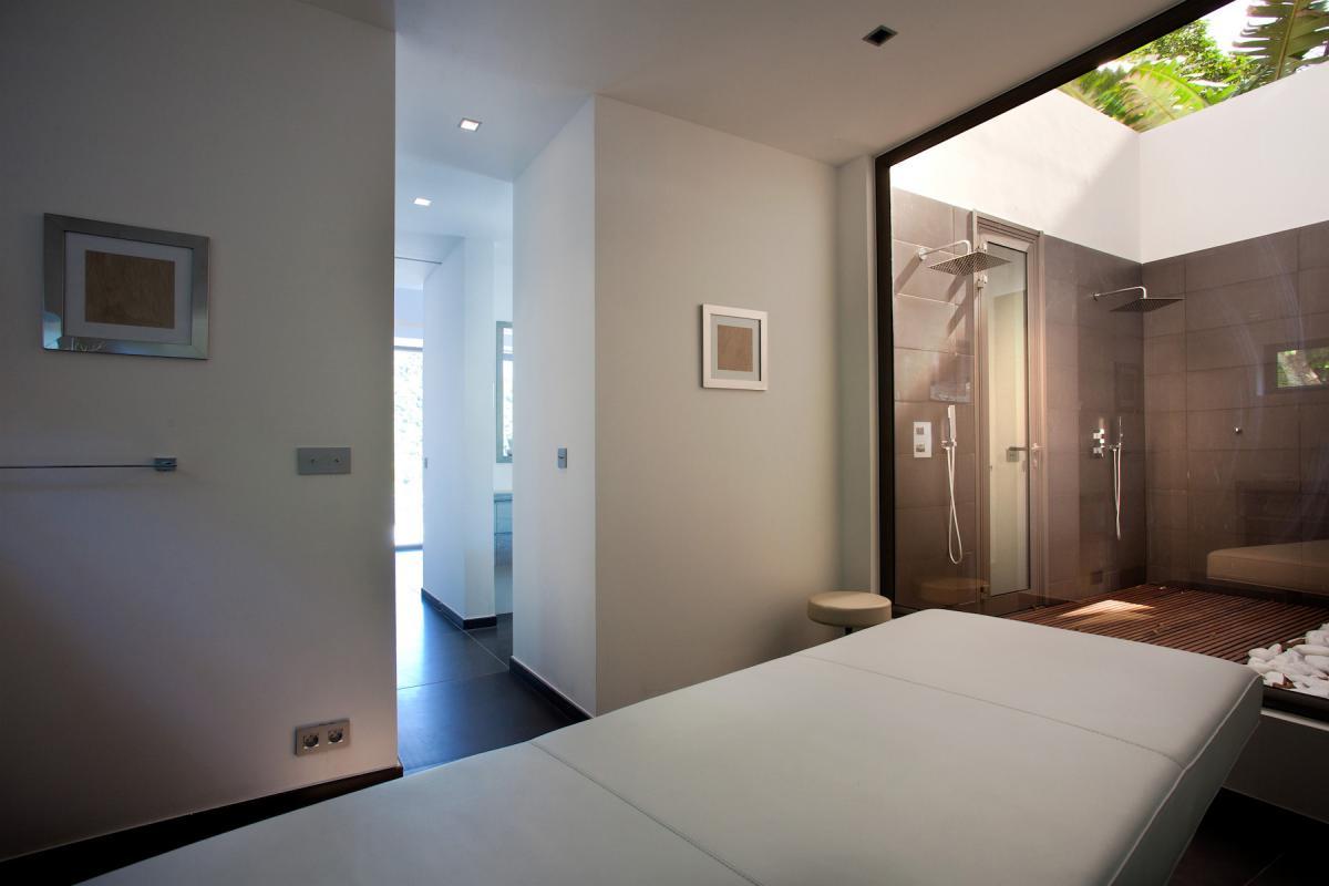 Location villa Flamands - La salle de massage