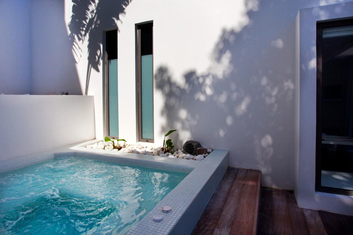 Location villa Flamands - Le jacuzzi