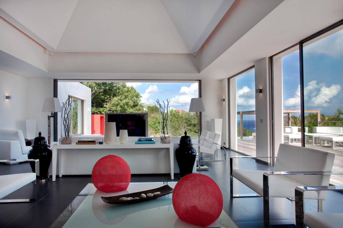 Location villa Flamands - Le salon