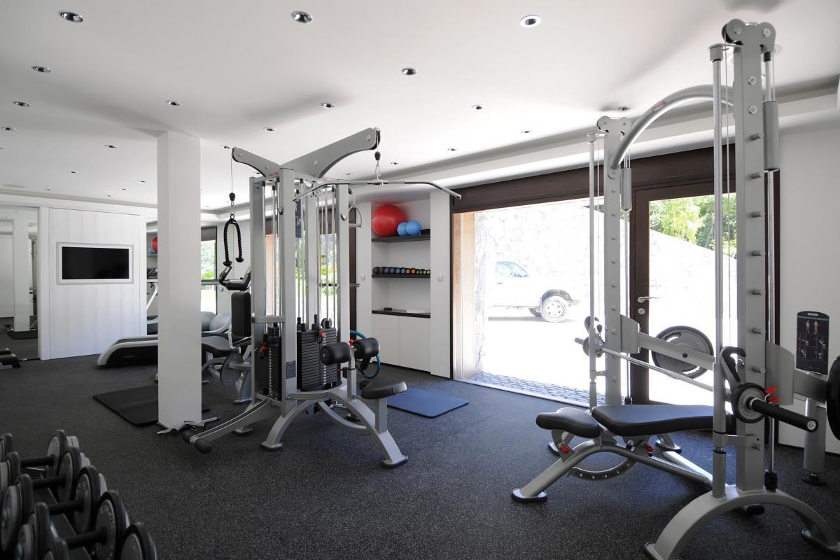 Location villa Saline - La salle de sport