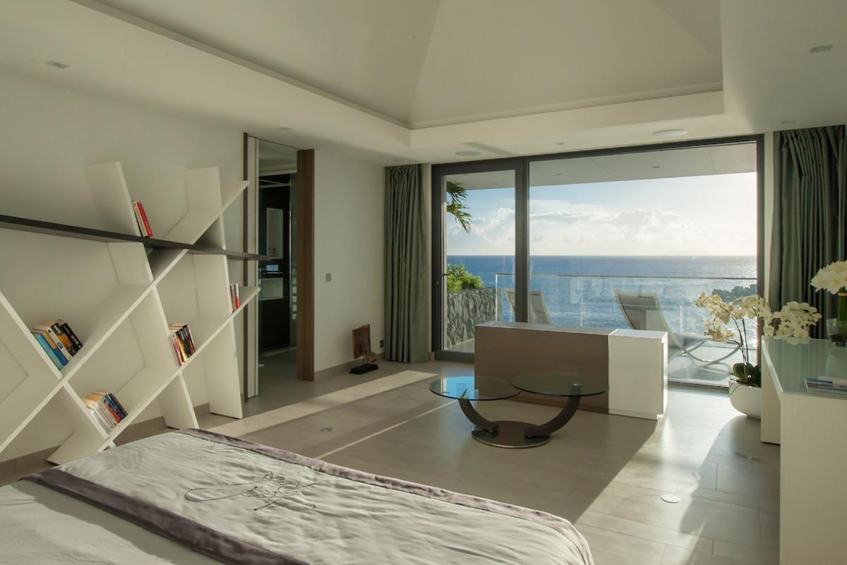 Location villa Gustavia - La chambre 1