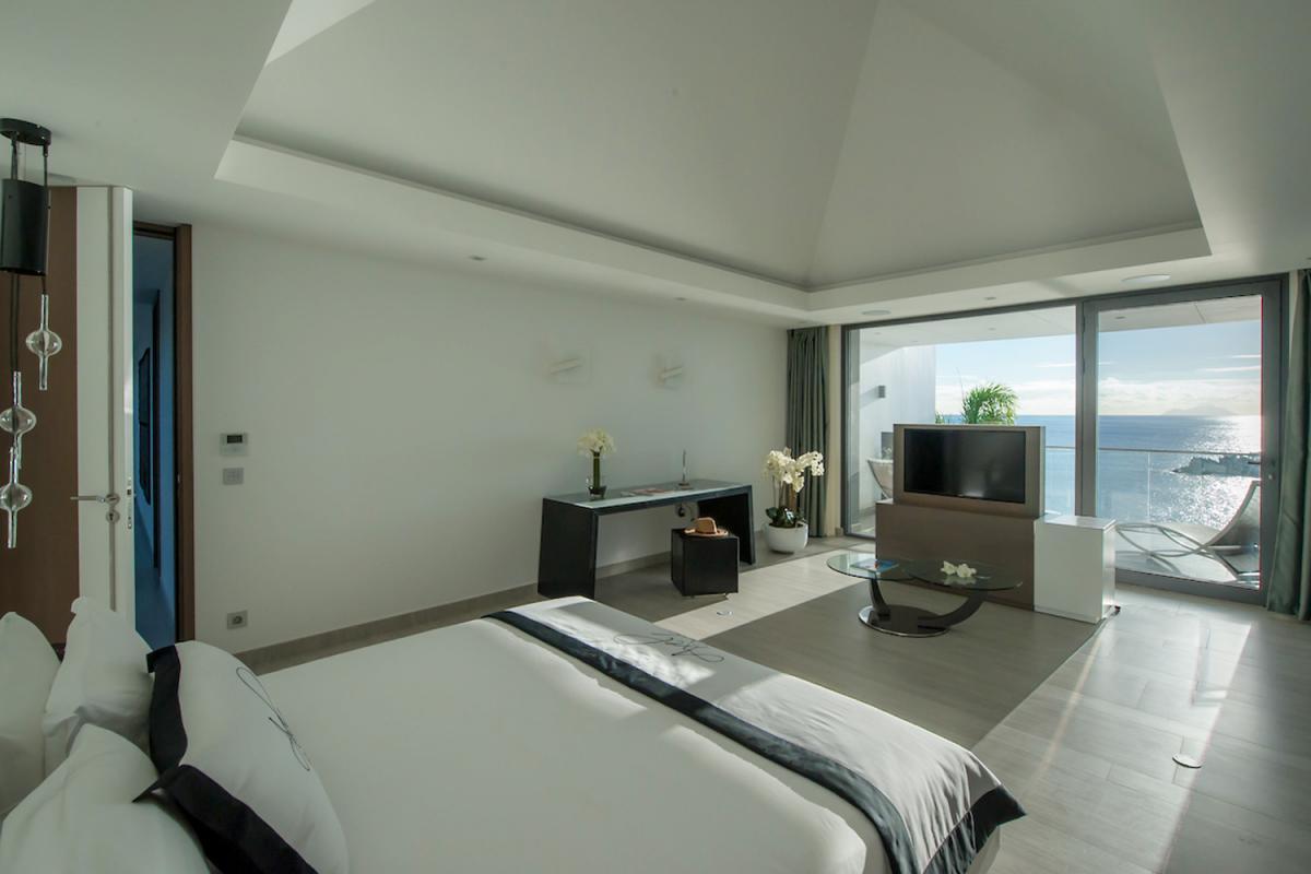 Location villa Gustavia - La chambre 3