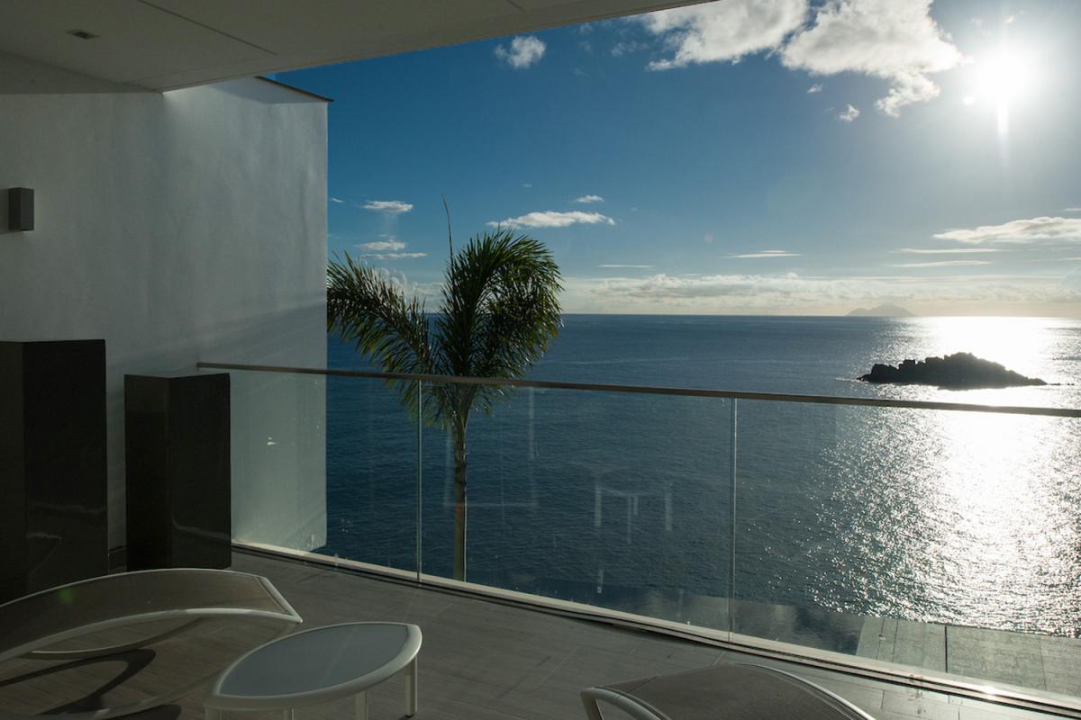 Location villa Gustavia - La terrasse de la chambre 3