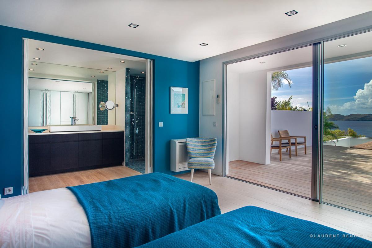 Location villa Saint-Jean - La chambre 4