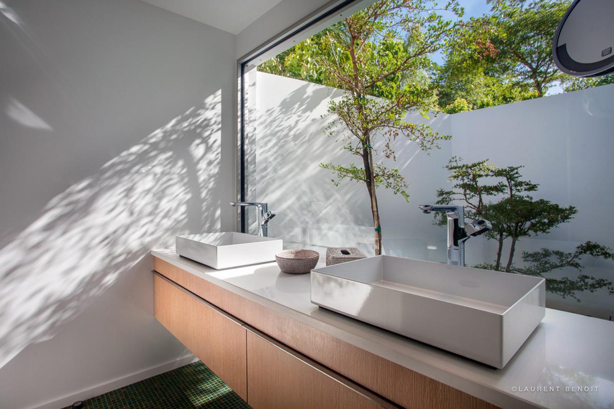 Location villa Saint-Jean - La salle de douche de la chambre 2
