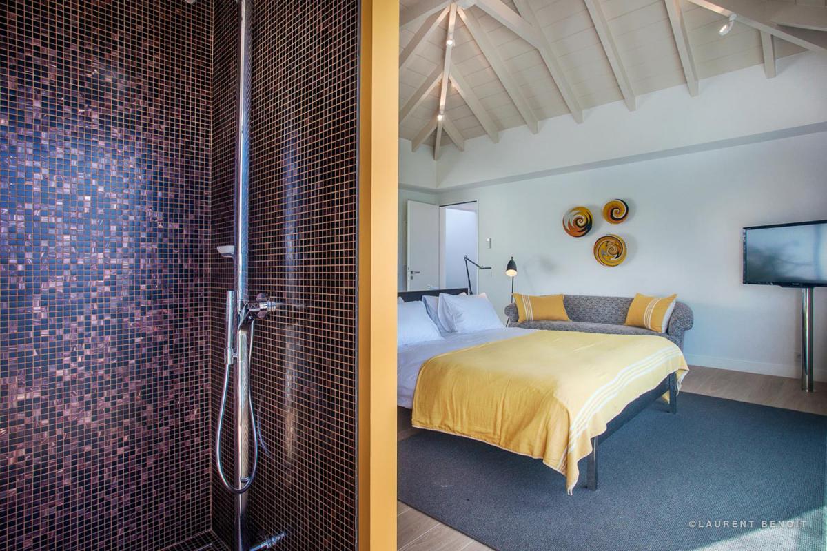 Location villa Saint-Jean - La salle de douche de la chambre 3