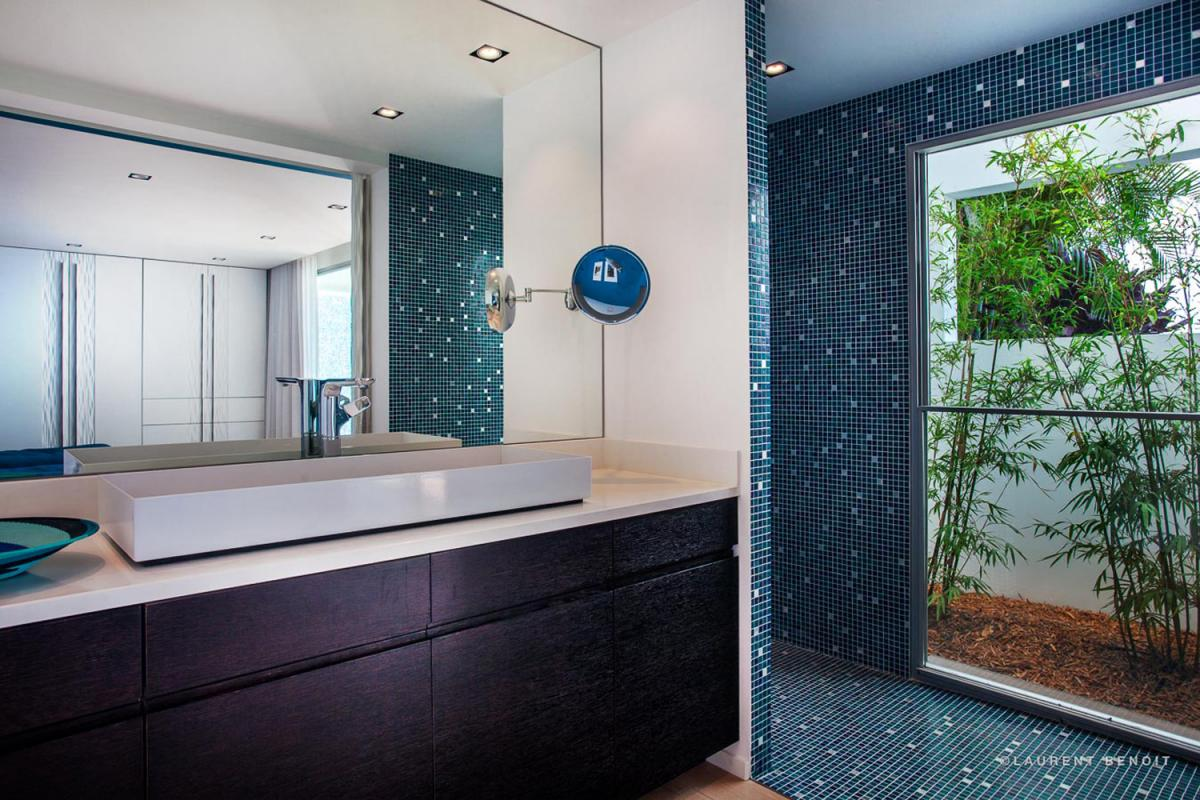 Location villa Saint-Jean - La salle de douche de la chambre 4