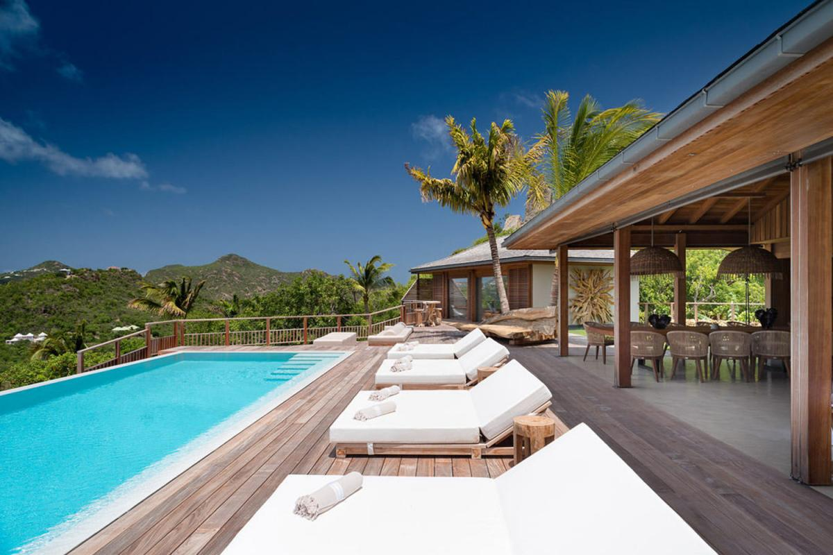 Location villa Saint-Jean - La piscine