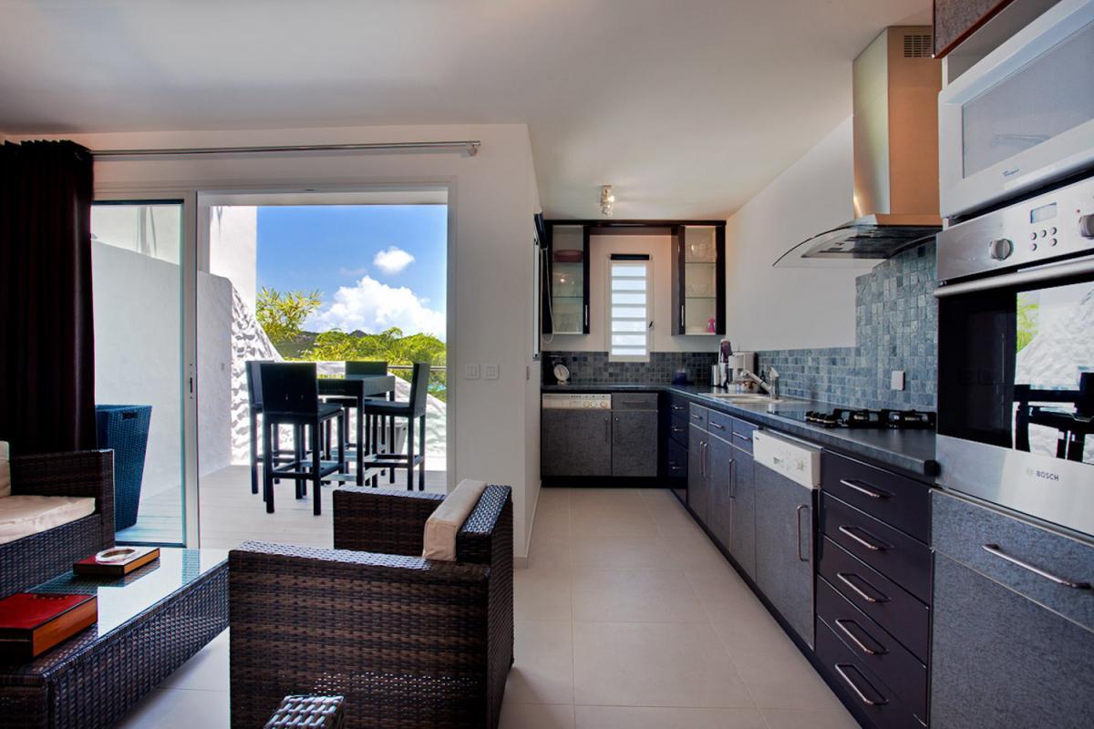 Location villa Saint-Jean - La pièce à vivre de la chambre 4