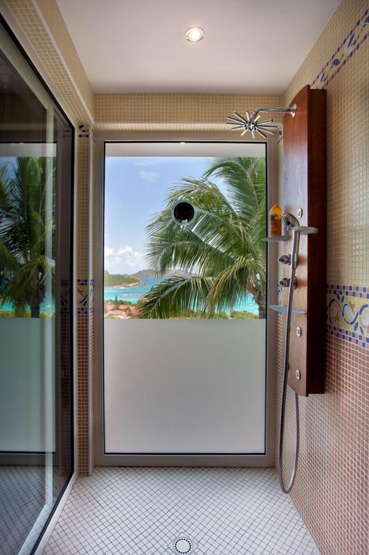 Location villa Saint-Jean - La salle de douche de la chambre 1