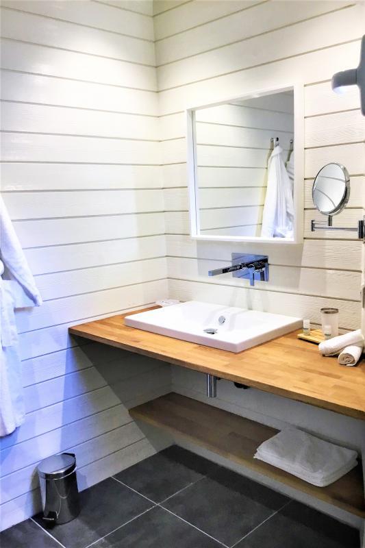 Location villa à St Martin avec vue mer - salle de douche