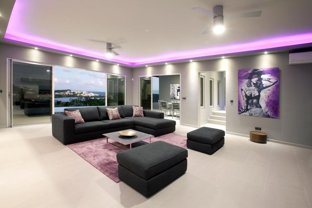 Villa Emvie - Le séjour